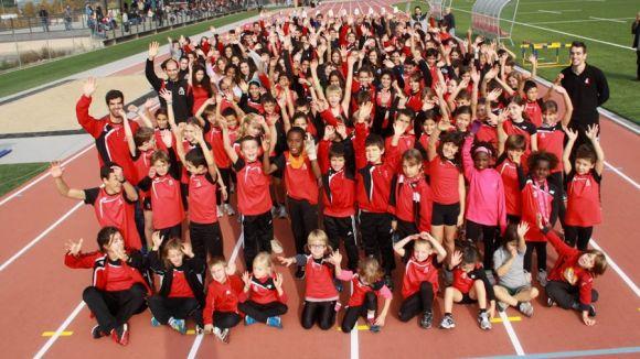 La secció d'atletisme del Muntanyenc arriba al màxim històric dels 307 atletes