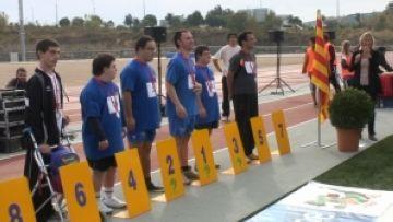 250 participants disputen el Català Special Olympics en l'estrena de les pistes de la Guinardera