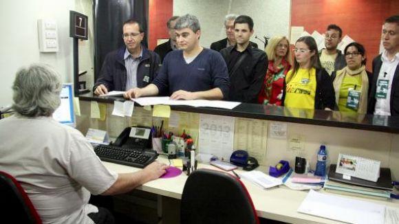 Treballadors de l'Ajuntament volen que Sant Cugat pagui a l'Agència Tributària Catalana