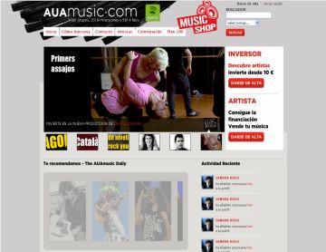 'AUA music' s'obre a finançar música en directe