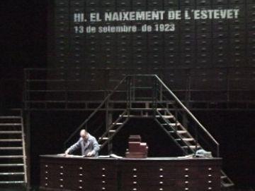 El Teatre-Auditori acull l'adéu d'una revisada i arriscada  'L'auca del senyor Esteve'