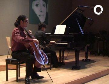 Els alumnes de perfeccionament de violoncel de Lluís Claret mostren a l'Escola de Música el treball de tot el curs
