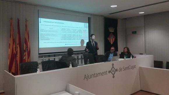 Reviu l'audiència pública dels pressupostos a Cugat.cat