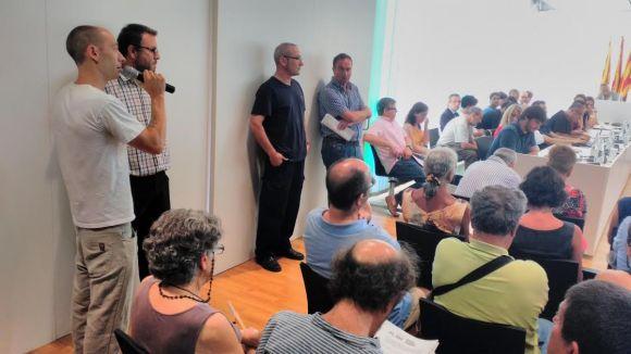 Escolta el torn d'audiència ciutadana del ple de Sant Cugat