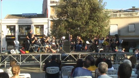 La Plaça d'Octavià s'omple de música amb Bandaula