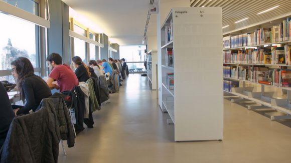 Continuen oberts els vuit espais d'estudi de Sant Cugat