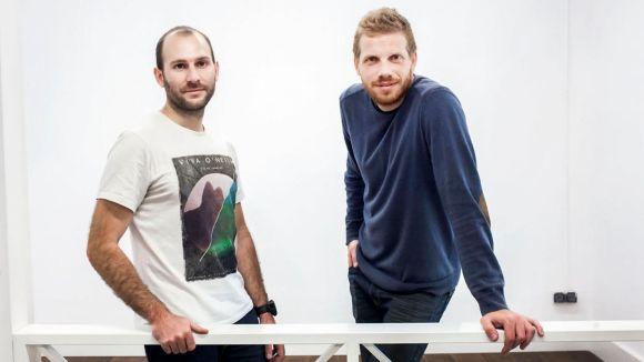 Els santcugatencs Aureli Bou i Sergi Figueres