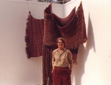 Mor Aurèlia Muñoz, artista barcelonina vinculada a l'Escola Catalana del Tapís