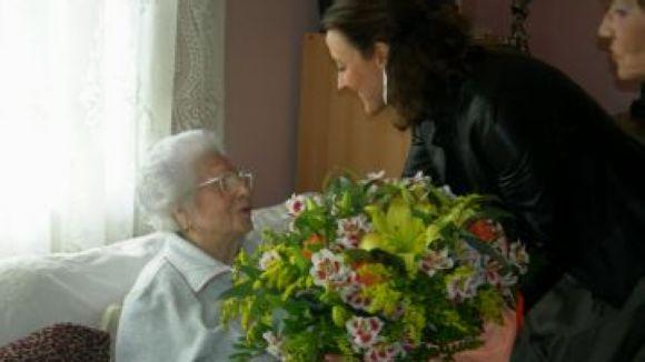 La santcugatenca més longeva mor als 108 anys