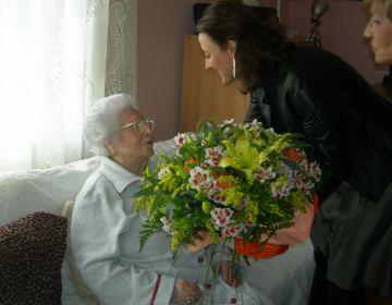 Una santcugatenca compleix 108 anys