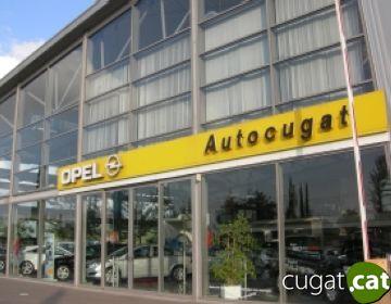 Concesionari d'Opel Autocugat a la carretera de Cerdanyola