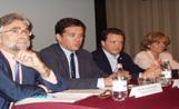 Sánchez Llibre, Recoder, Cardoner i Cazorla a la reunió de Valldoreix