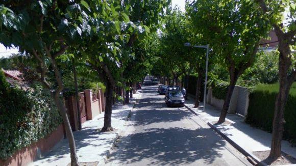 Tallat al trànsit un tram de l'avinguda de Madrid per obres d'asfaltat