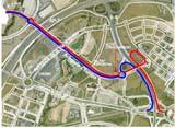El nou vial oferirà un nou accés a la ciutat des de l'E-9