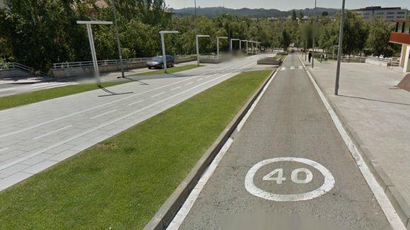 Restriccions de trànsit dijous i divendres al pont de Francesc Macià