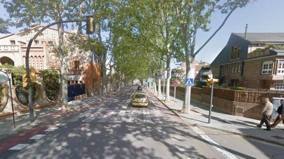 La Policia Local deté una persona per presumpte robatori a l'avinguda de Gràcia