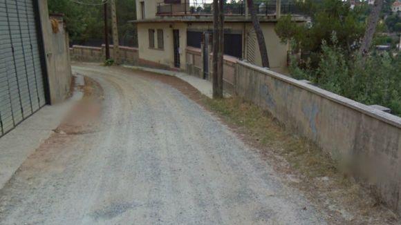 L'avinguda de Tarruell es pavimentarà enguany