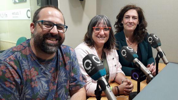 D'esquerra a dreta, José Luis Buenache, Sònia Díaz i Susana García