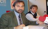 L'alcaldable socialista, Jordi Menéndez, ha presentat les propostes del PSC per a la gent gran en una roda de premsa