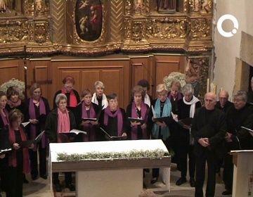 La gent gran de Valldoreix s'acomiada del Nadal amb un concert