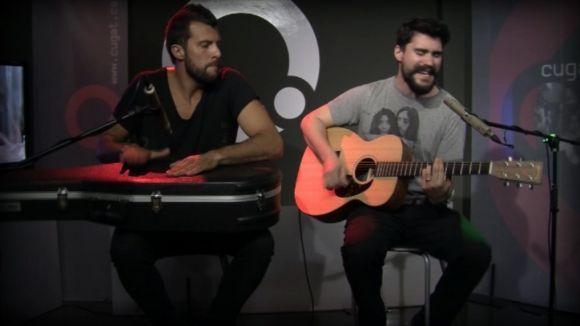 Jota i Sam Palacios dos dels quatre components del grup