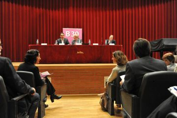 Consens dels 22 municipis de l'eix de la B-30 a favor del Corredor Ferroviari Mediterrani