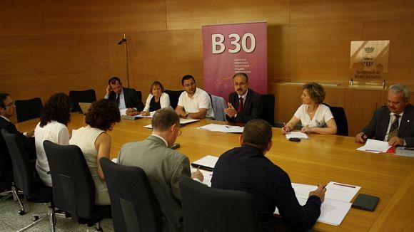 Els membres representants de l'associació, en una imatge d'arxiu / Fotografia: Localpres