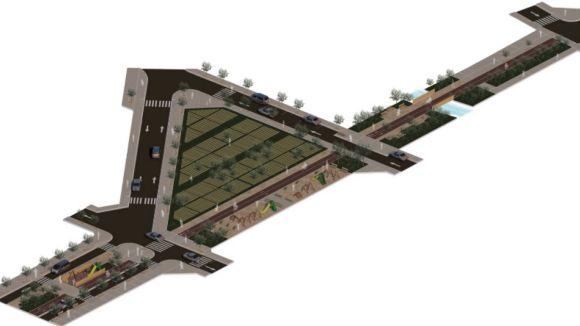 La proposta d'urbanització de l'avinguda Baixador arriba amb crítiques veïnals en participació i mobilitat
