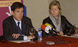 L'alcalde Recoder i la regidora de Serveis Personals, Àngels Ponsa, han repassat en roda de premsa les activitats de l'Any del Mil·lenari
