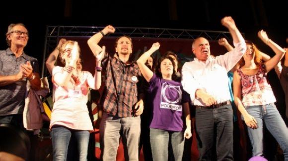 Balcells (Catalunya sí que es Pot) critica el discurs de Pablo Iglesias a Rubí