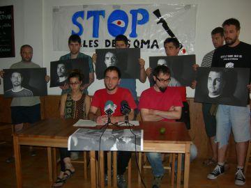 Cinc col·lectius d'esquerra abanderen la lluita contra l'ús de les bales de goma per part dels Mossos