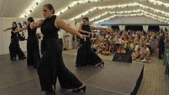Una de les actuacions a la caseta del CPA / Foto: Premsa Sant Cugat