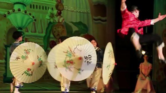 'El trencanous' del Ballet Ruso Barcelona, avui en doble sessió al Teatre-Auditori
