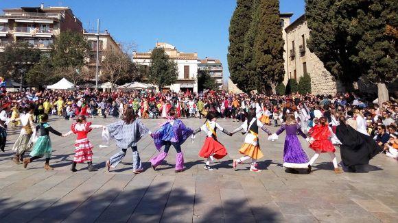 El Carnaval infantil omple els carrers de Sant Cugat amb una rua i Gitanetes multitudinàries