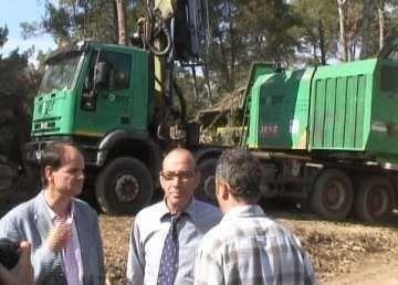 Francesc Baltasar: 'Garantim les infraestructures de defensa del bosc davant del risc d'incendis'