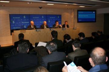 Banc Sabadell tanca l'any 2009 amb un 22,5% menys de beneficis que ara fa un any