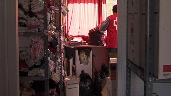 La crisi augmenta la demanda de roba de segona mà de Creu Roja
