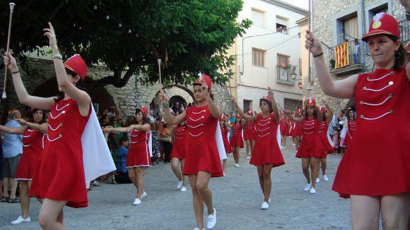 Imatge de la 'Banda i Majorets' de La Llacuna / Font: Flickr la Llacuna