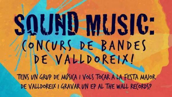 Valldoreix impulsa un concurs de bandes musicals amb la gravació d'un EP com a premi principal