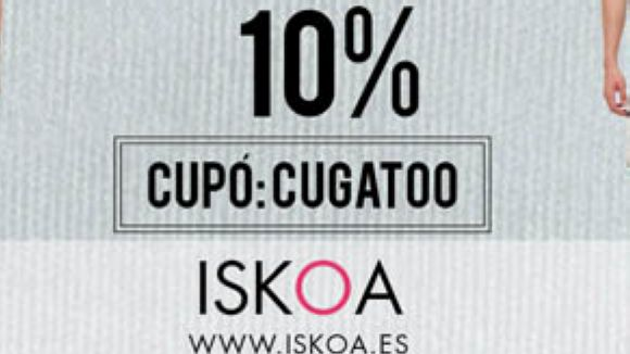 Iskoa ofereix un descompte del 10% als usuaris de Cugat.cat