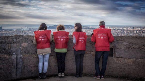170 santcugatencs participaran a la caminada solidària Barcelona Magic Line