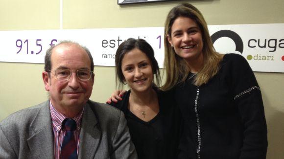 Carlos Bardají, Carla Navarro i Alba Navarro