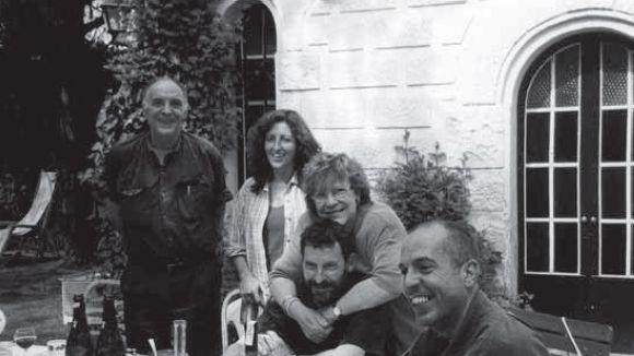 La família Barnils, en un fragment d'una de les imatges del llibre / Foto: 'Les sagues de Sant Cugat'
