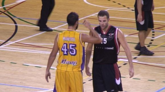Alberto Reyes, un dels protagonistes, ha viscut un intens duel amb Èric Mañés