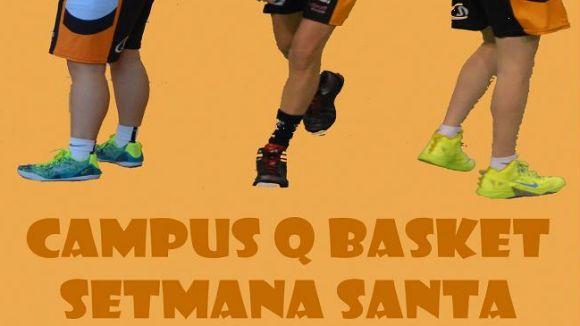 Imatge del cartell del campus / Foto: Qbasket Sant Cugat
