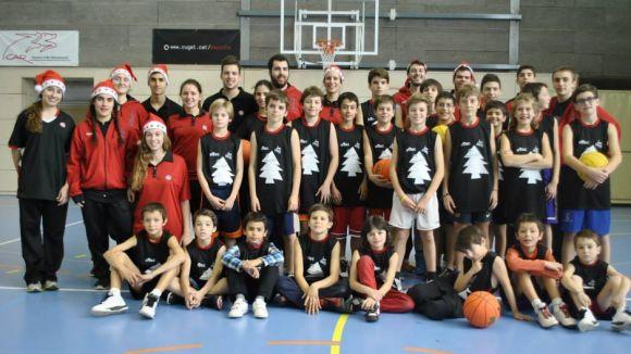 La UE Sant Cugat segueix oferint bàsquet per a vacances amb el 2n Basket City Nadal