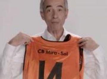 El vídeo d'Imanol Arias donant suport al CB Mira-sol fa furor a les xarxes socials