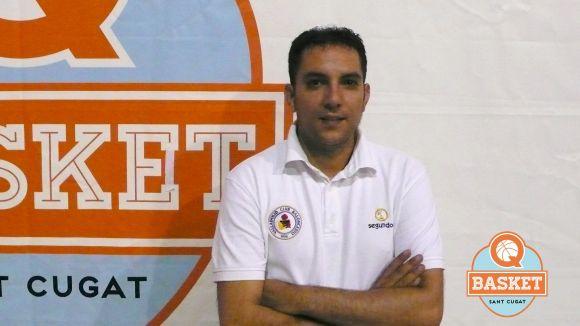 Ernest Santana renova amb el QBasket masculí de cara a la temporada vinent