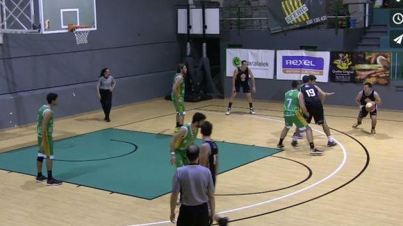 El Qbasket Sant Cugat perd de manera ajustada a la pista de l'Sfèric de Terrassa