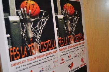 El Club Bàsquet Mira-sol participarà en la campanya solidària 'Fes la teva cistella'